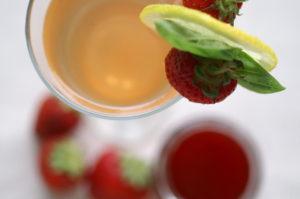Erdbeer-Basilikum-Sirup