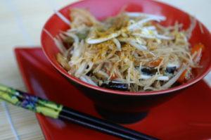 Glasnudel-Curry-Salat