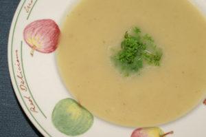 Bierrettich-Suppe