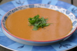 Rote Linsen Suppe