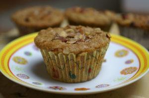 Walnuss Apfel Muffin