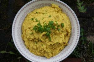 Curry-Kichererbsen-Aufstrich