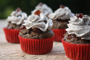 Himbeere-Mohn-Muffins