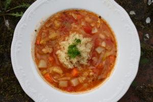 Minestrone mit Quinoa