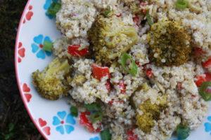 Quinoa Salat mit Brokkoli