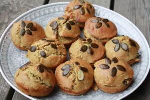 Kürbiskernöl-Brotmuffins