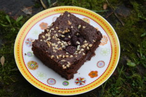 Kirsch-Schoko-Brownies