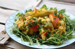 cremiger Kürbissalat mit Gurkerl