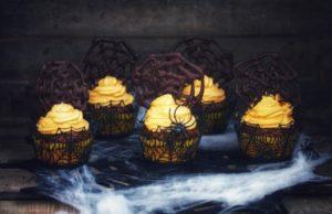 Orangenpunsch-Kürbis-Cup Cakes
