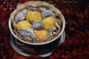 Pfirsich-Schoko-Kuchen