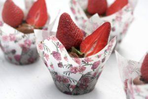 Schoko-Erdbeer-Muffins