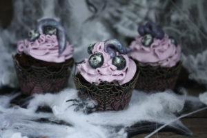 Lila Halloweenmuffins