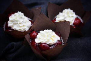 Schneewittchen-Muffins