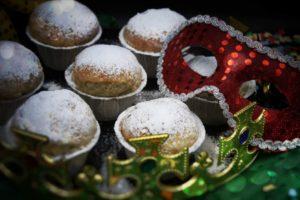 Faschingskrapfen-Muffins