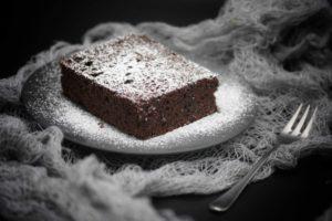 Kaffee-Schokoladen-Kuchen